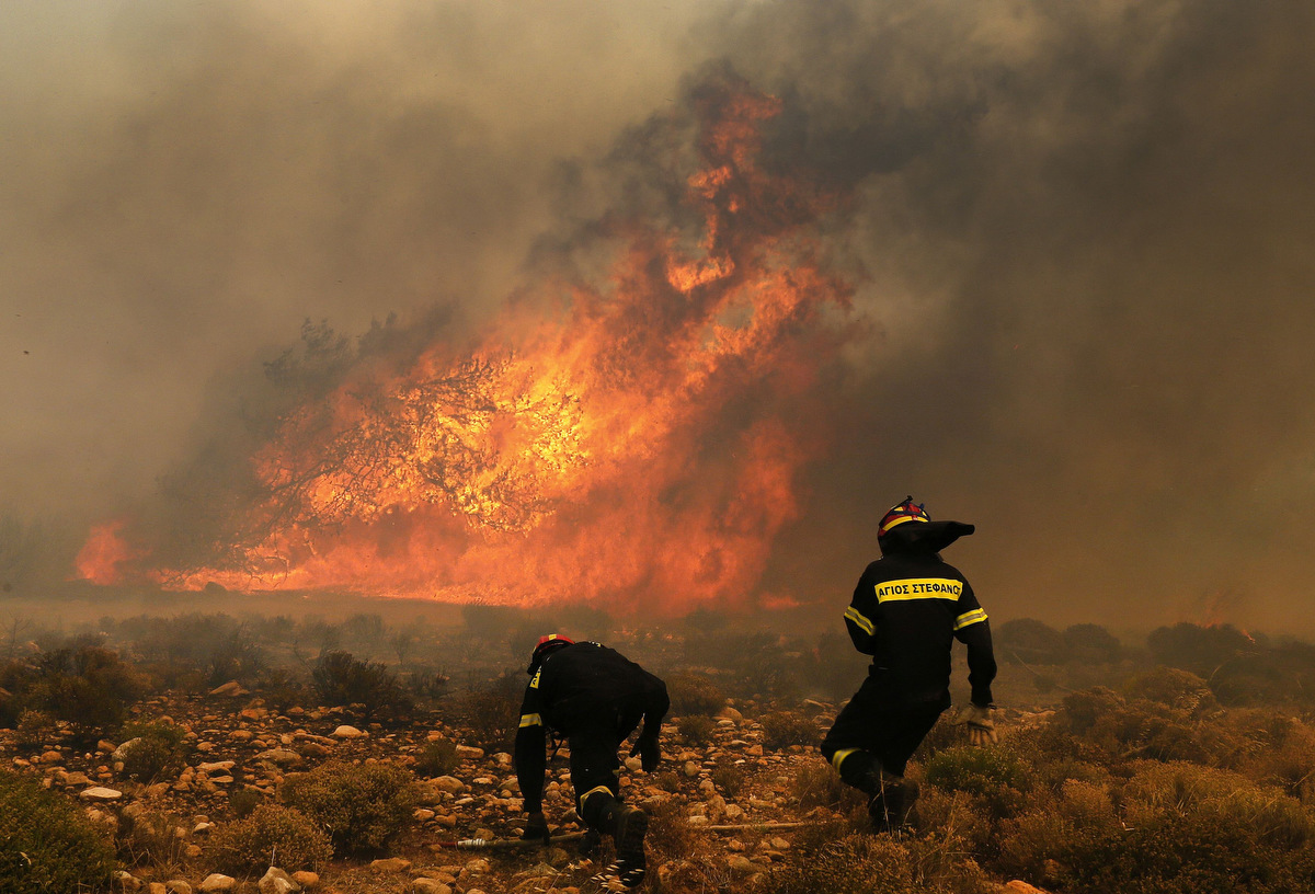 incendii grecia