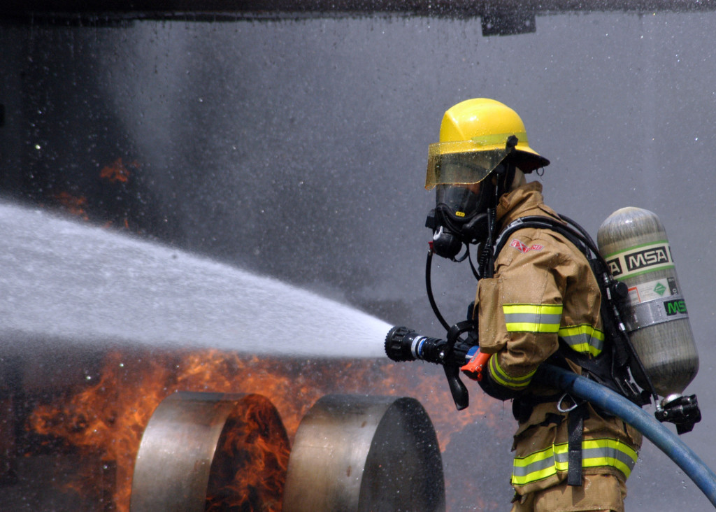 munca pompier