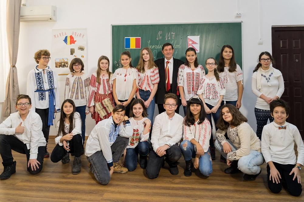 Echipa de proiect din Romania