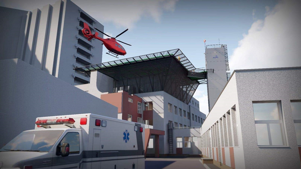 heliport spital universitar urgenta bucuresti