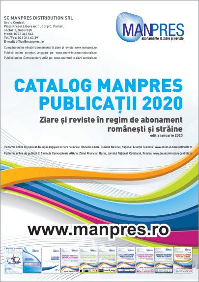 Catalog MANPRES de preturi 2020