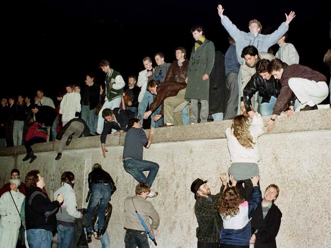 caderea zidului berlinului