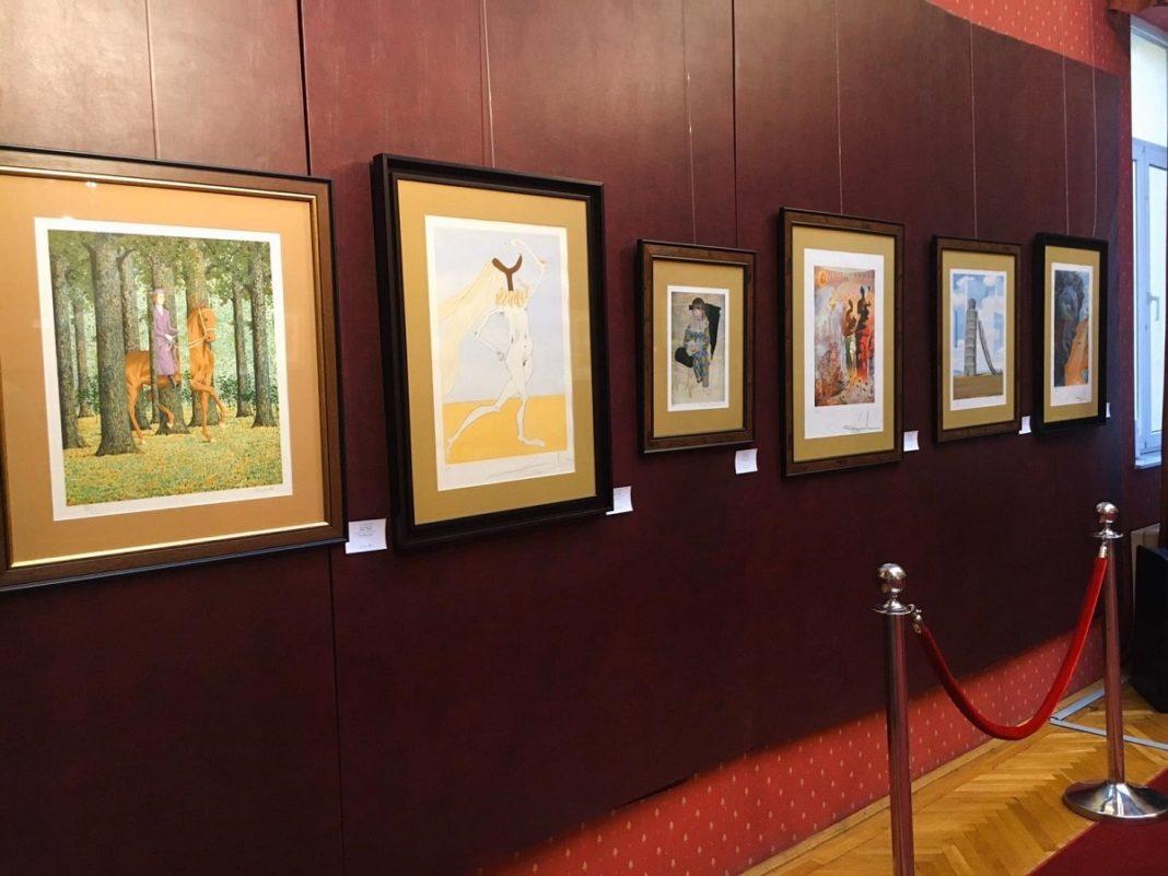 Expoziția Licitației de Grafică Europeană