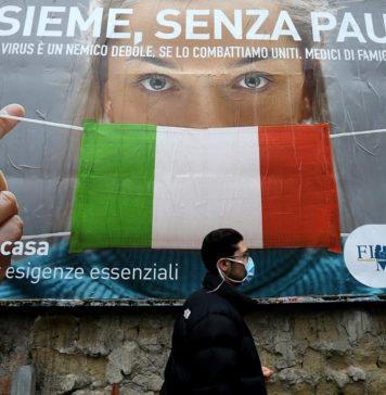 Italia contro coronavirus