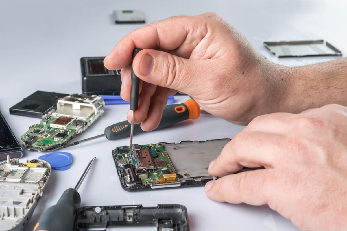 service smartphone