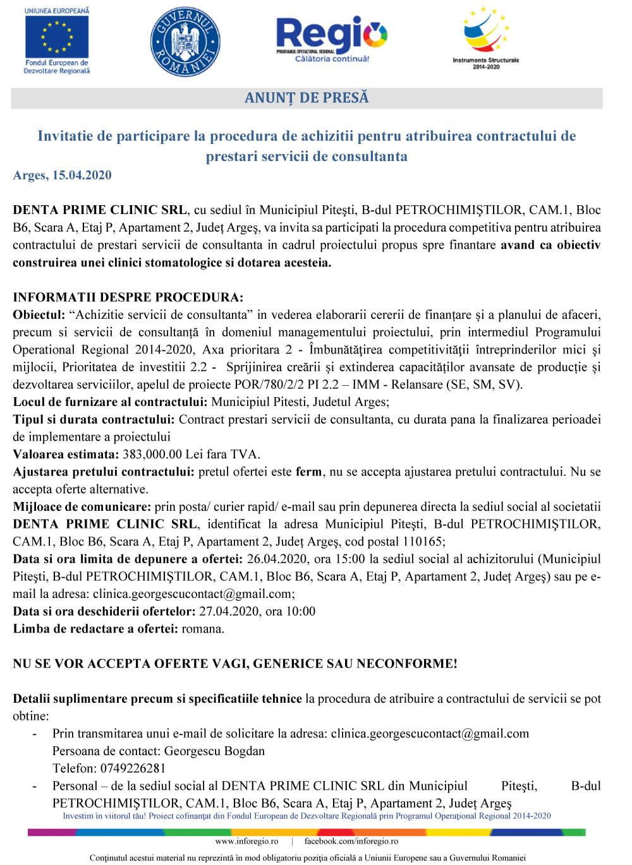 Anunt-Consultanta-DENTA-PRIME-CLINIC-SRL-min