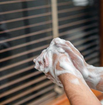 dezinfectare maini