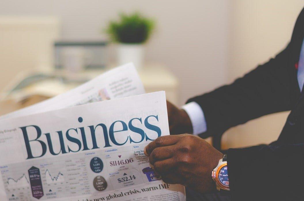 business newspaper investor