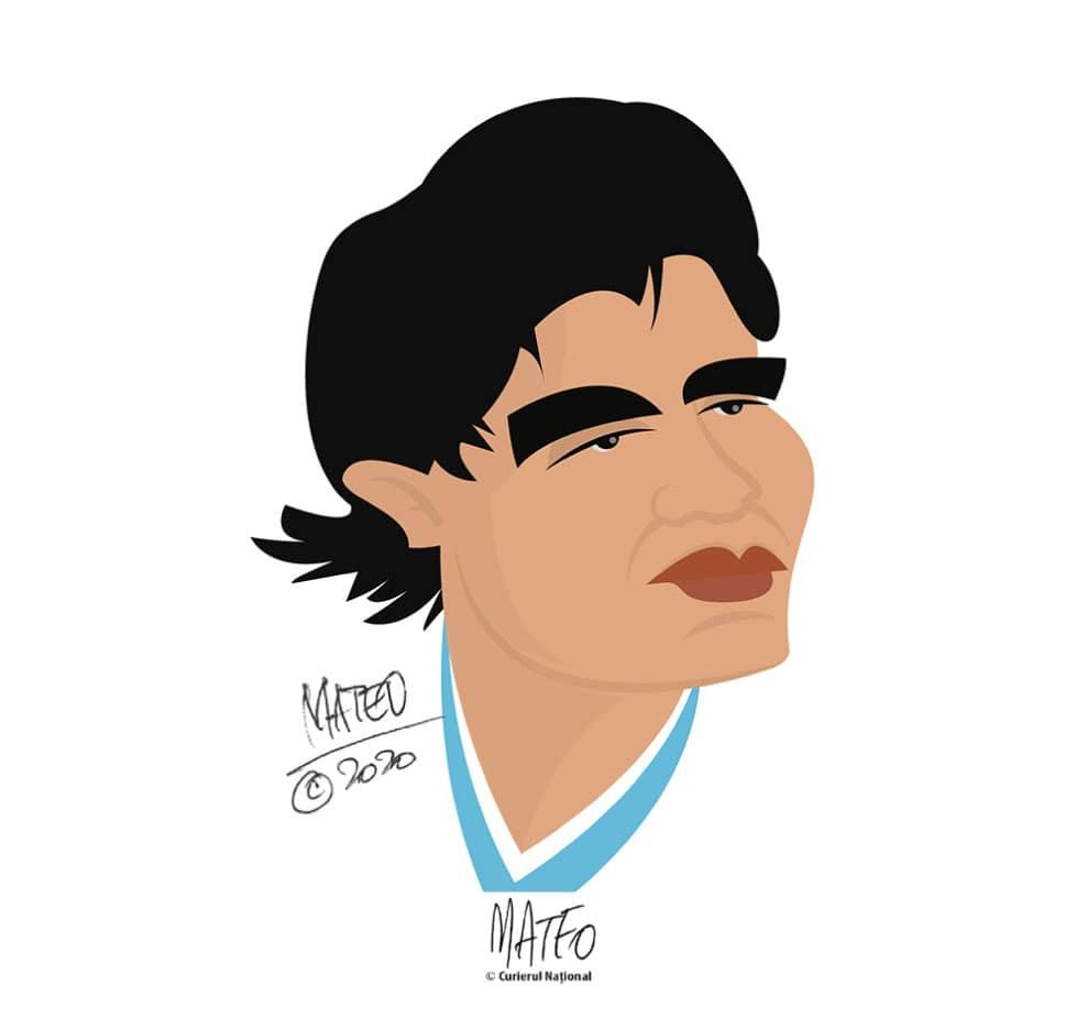 Tribut-Maradona-Mateo
