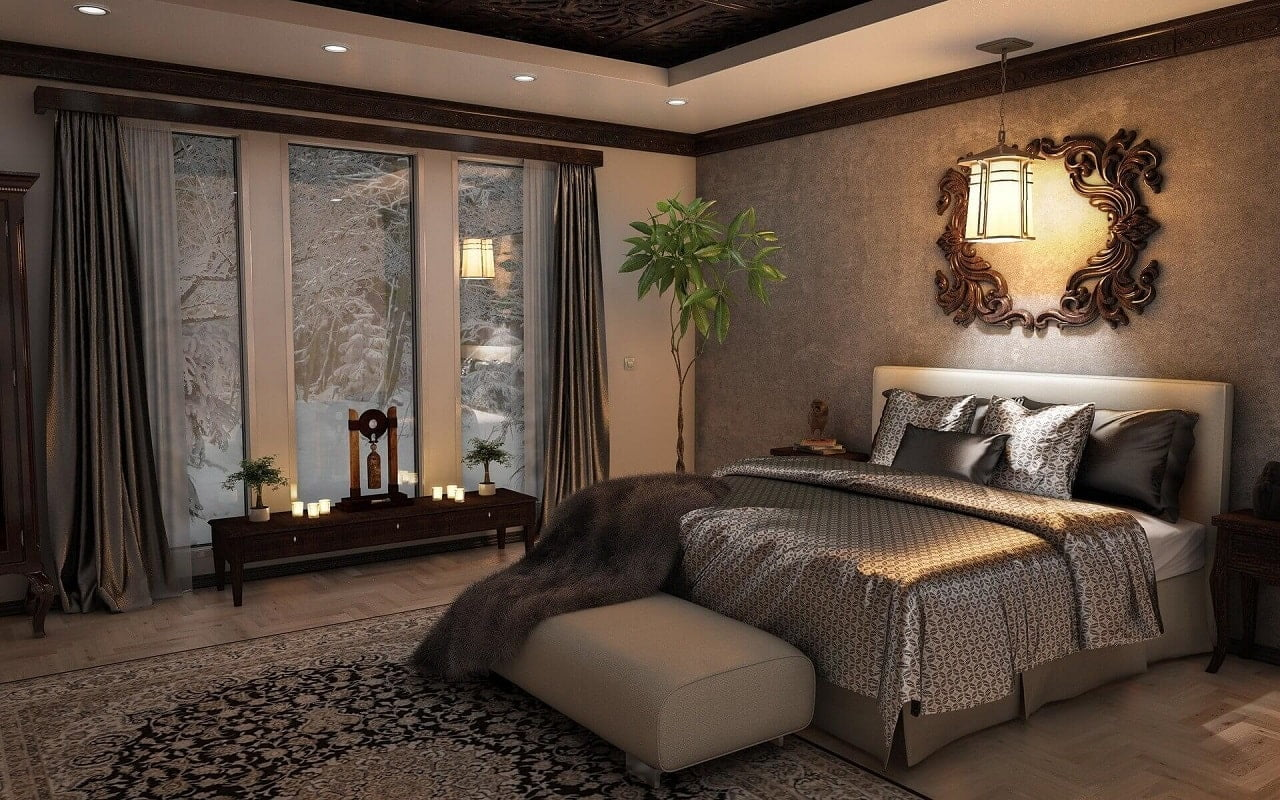 dormitor cozy