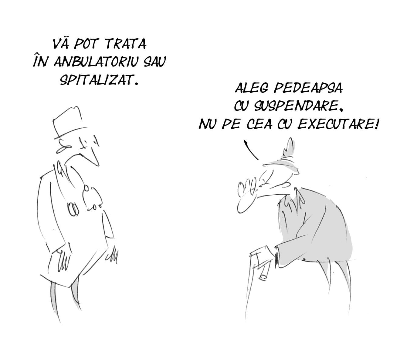 1 februarie caricatura