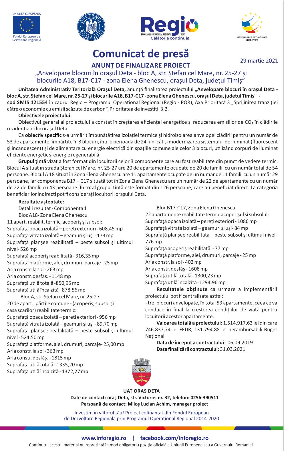 DETA comunicat de presa 29-1