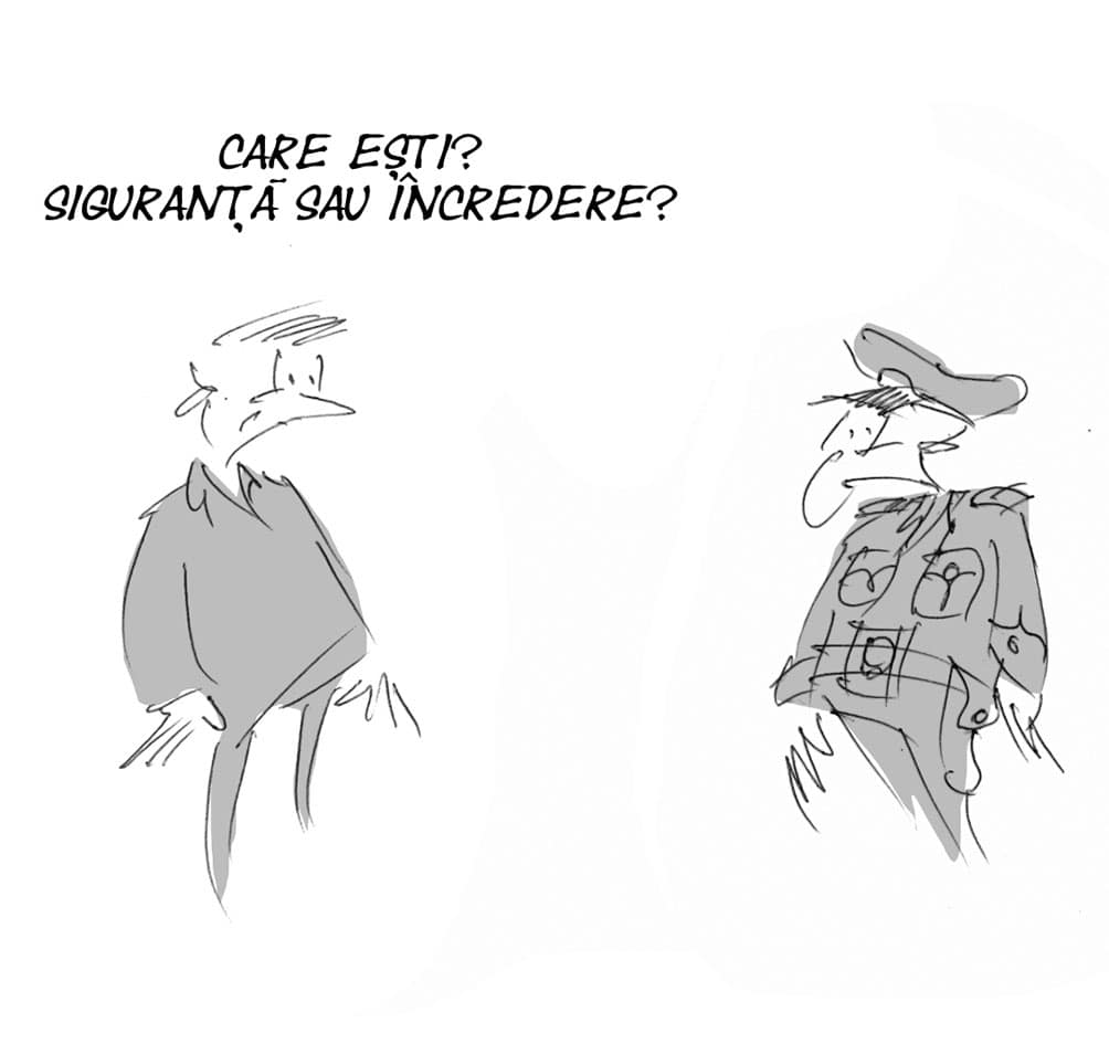 caricatura mateo 5 martie 21