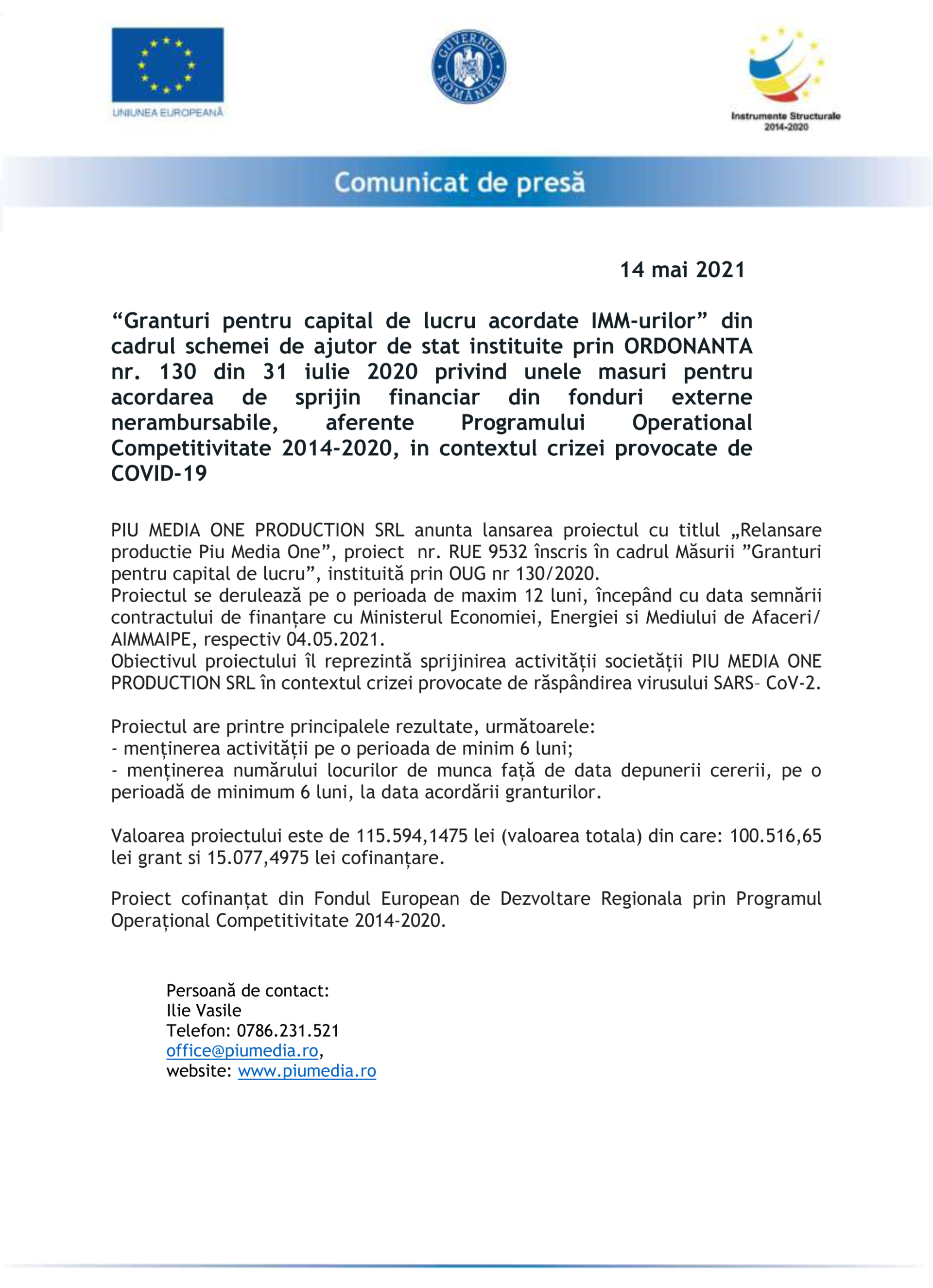 Comunicat-de-presa-PIU-MEDIA-ONE-PRODUCTION