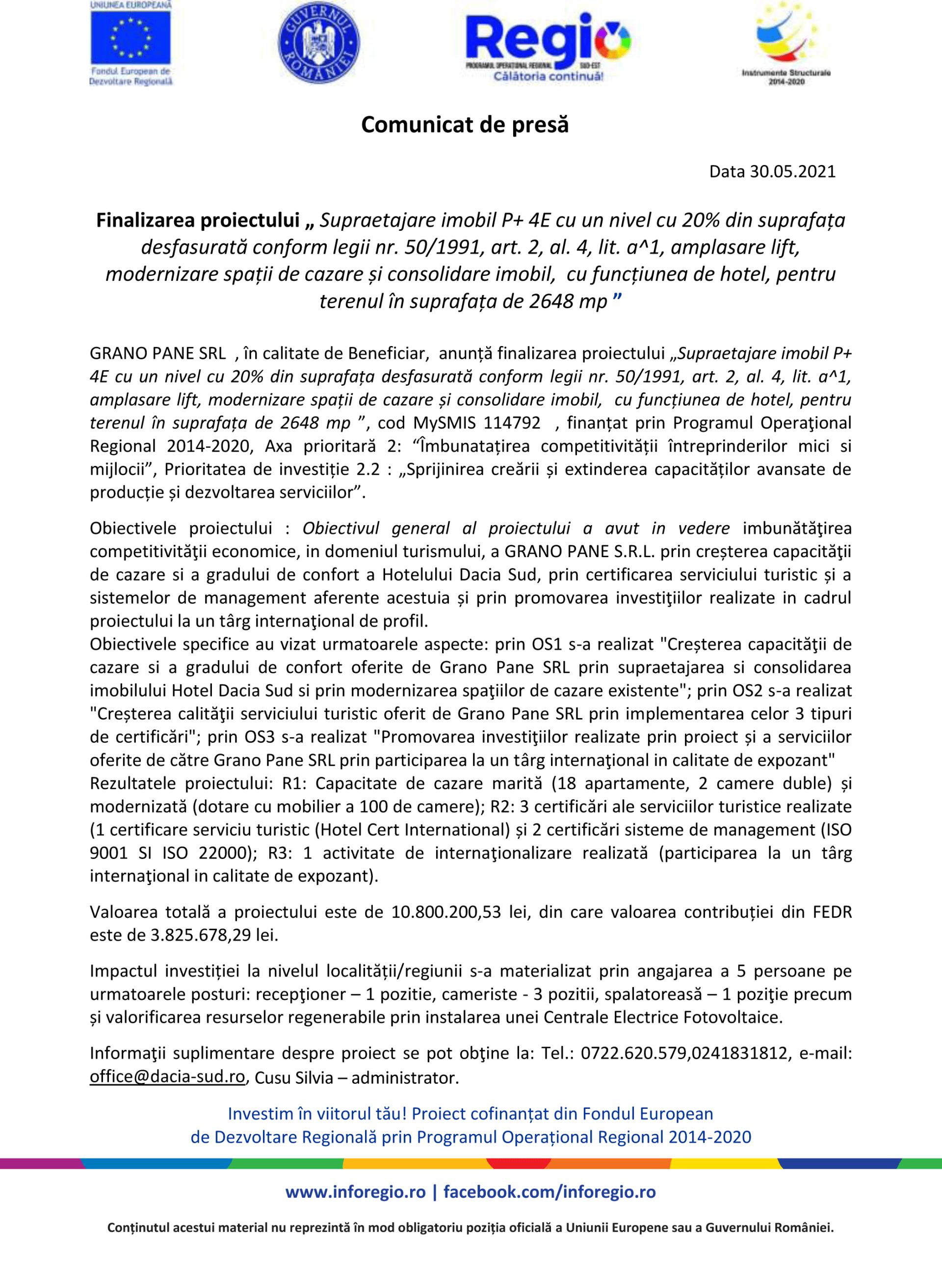GRANO-PANE-SRL-Comunicat-de-presa-30-mai