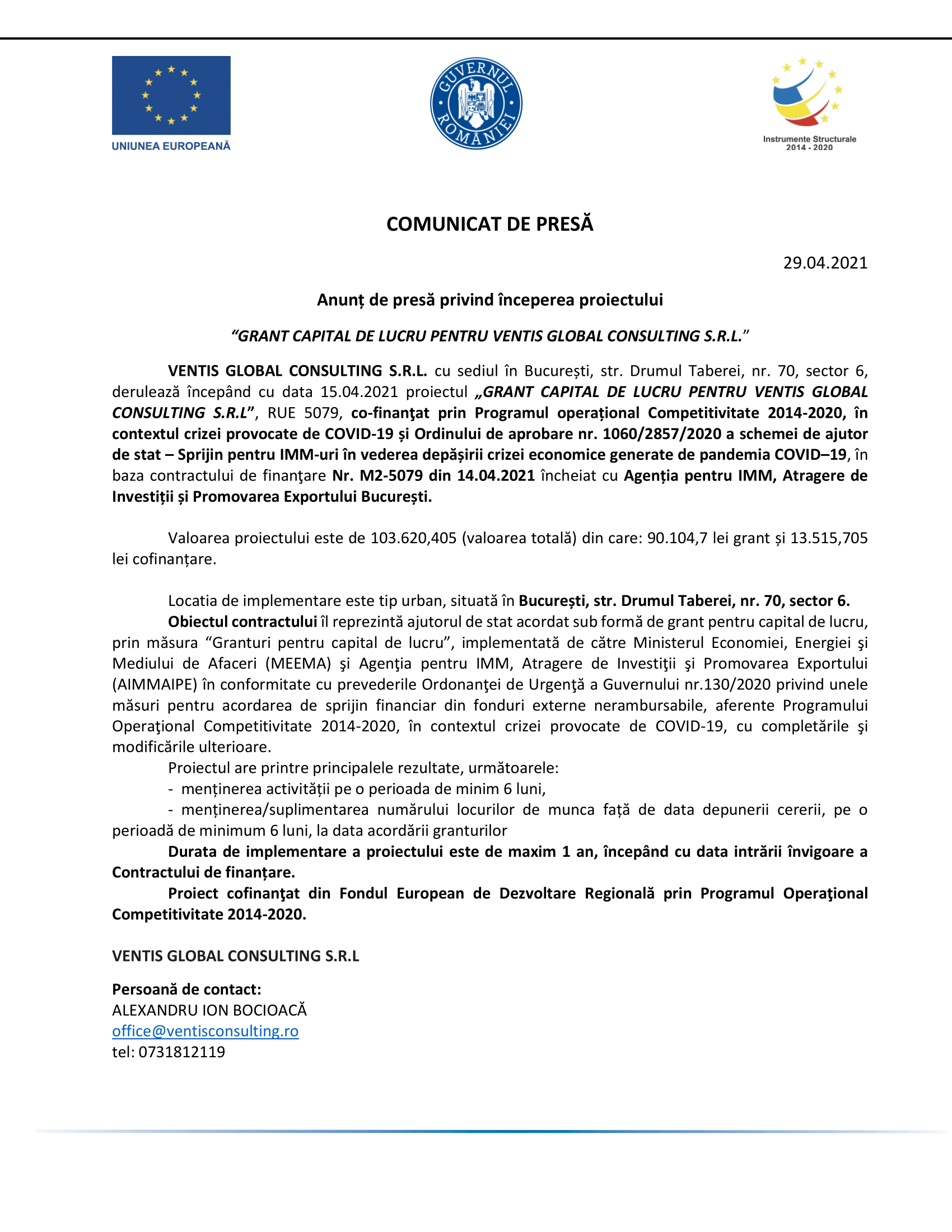 Ventis-anunt-de-presa-inceput-proiect-MASURA 2-1