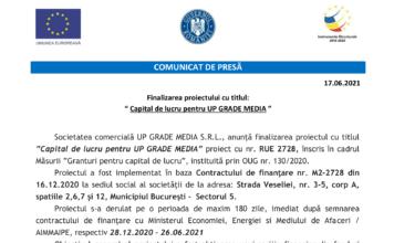 1. Comunicat de presa finalizare proiect_UP GRADE MEDIA-1