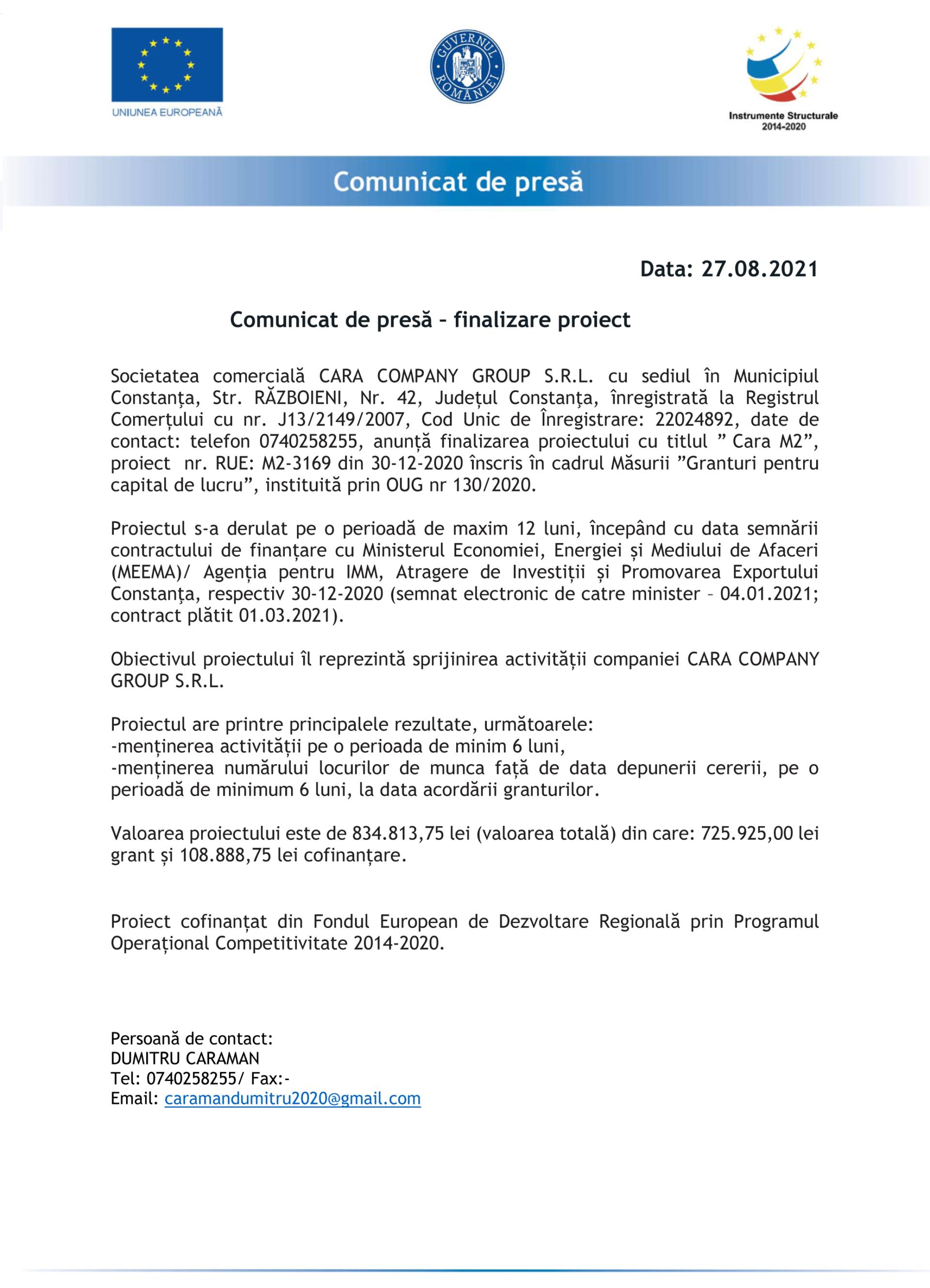 Comunicat_de_Presa_CARA-COMPANY-GROUP-SRL