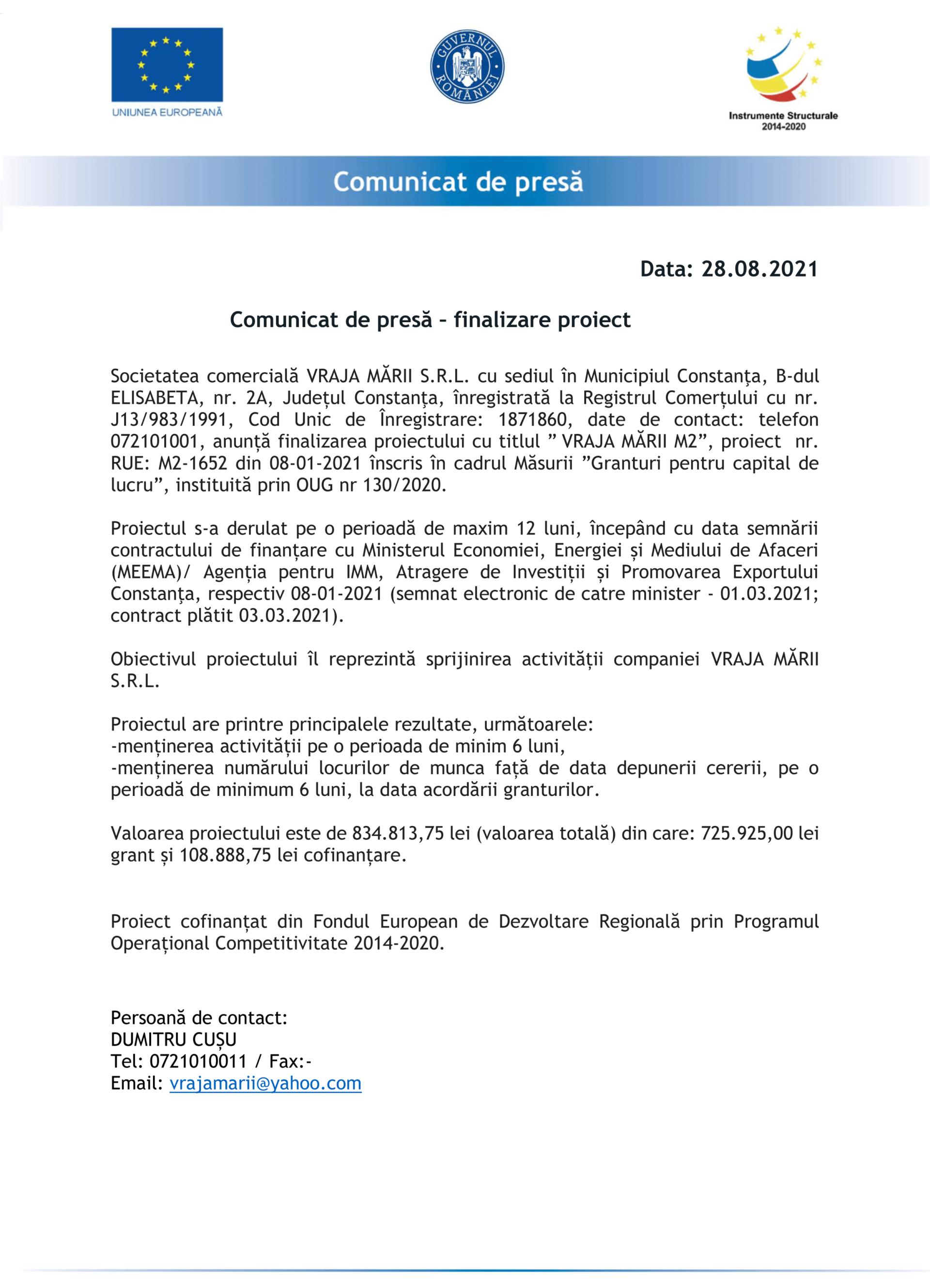 Comunicat_de_Presa_VRAJA-MARII-SRL
