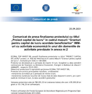 MODEL-Comunicat_de_Presa_benef-finali - FINALIZARE Ecoral-1